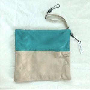 Alberta Di Canio color block clutch